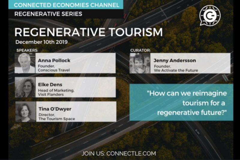 Regenerative Tourism. Connectle.