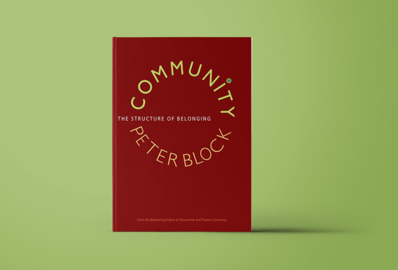 Community. The structure of belonging.